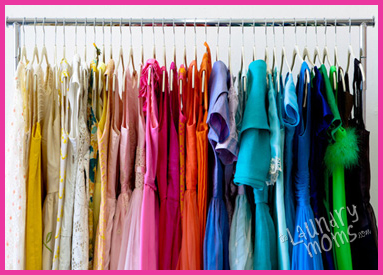 Closet, Dressess, Family Closet, Laundry room, Damily, Home, laundry tips, Laundry with Big Families, Organization