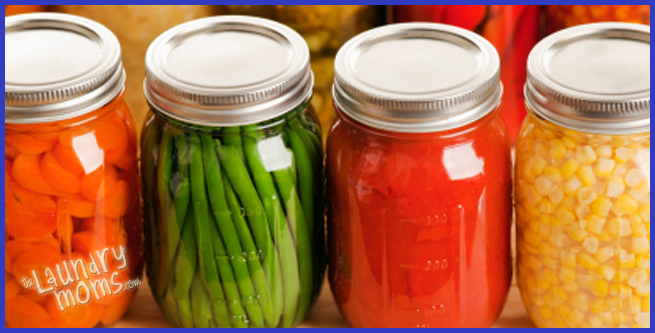 canning food, food storage, food planning, no electricity, self sufficient, storing water
