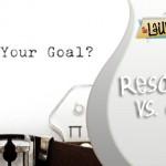 Resolutions vs.Goals