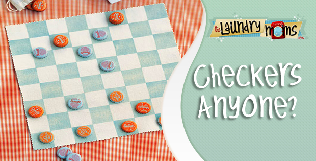 Family Game Night, Crafts with Kids, Checkers, Playing Checkers
