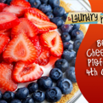 Berry Cheesecake Pie-for the 4th of July