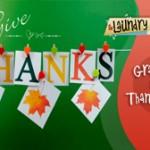Gratitude and Thankfulness