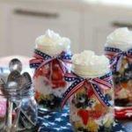 Trim Healthy Mama Fourth of July Shortcake