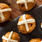 Trim Healthy Mama Hot Cross Muffins