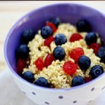 Quinoa Berry Porridge