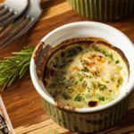 Creamy Baked Eggs and Dill