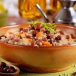 Sweet and Spicy Skillet Rice and Beans