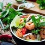 Shrimp Sesame Noodles