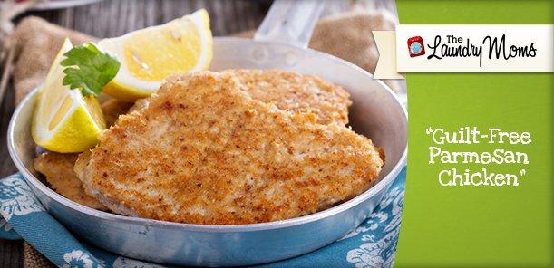 Guilt-Free Parmesan Chicken