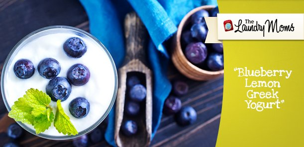 Blueberry Lemon Greek Yogurt