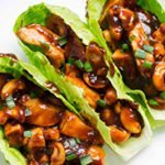 Nutty Chicken Wraps