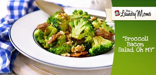 Broccoli Bacon Salad, Oh MY