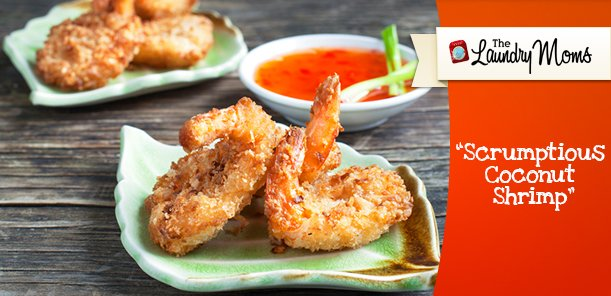 Scrumptious Coconut Shrimp