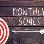 Setting Monthly Goals For Yourself