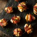 Bacon-Wrapped Cheese