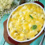 Bacon Cauliflower Mac & Cheese