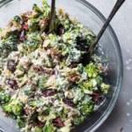 Mediterranean Broccoli Salad