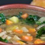 Kick'n Kale Soup