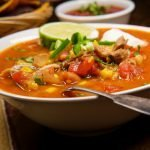 South of the Border Enchilada Soup