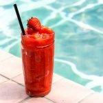 Faux Strawberry Daiquiri